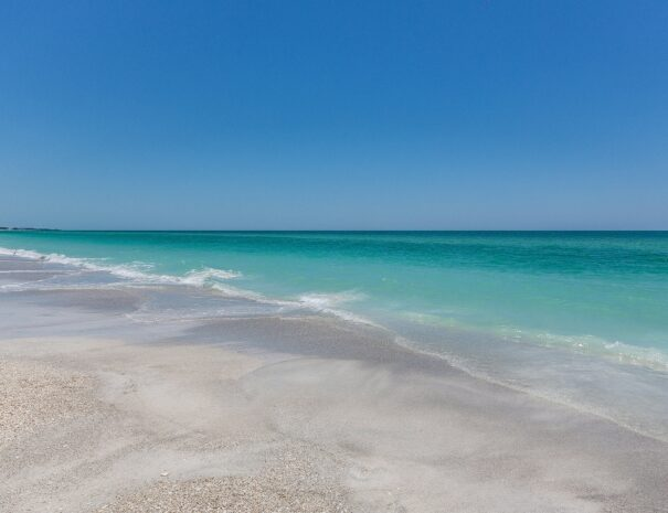 Not a stock photo. This is actual beach located 7 minute walk from front door